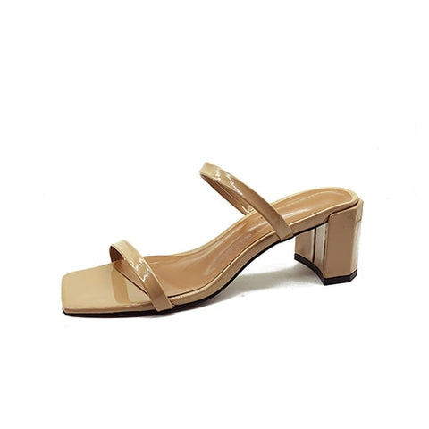 Image of Slip On Square Heel Women