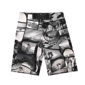 Fashion Printed Board Shorts Men/Beach Short Male Swimwear