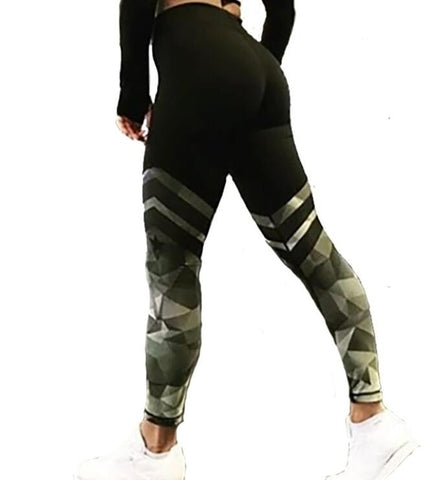 Image of Breathable Woman Pants Leggings Push Up Strength