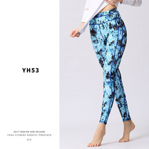 Women Yoga Pants Printed