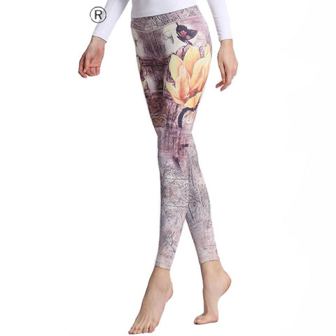 Image of Women Yoga Pants Printed