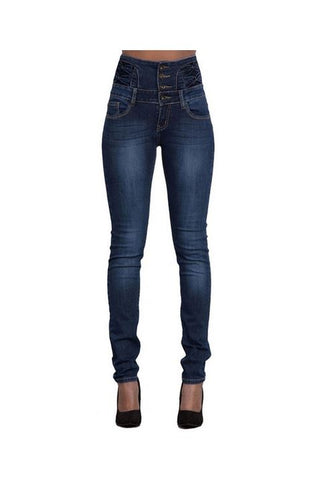 Image of Woman Skinny Jeans