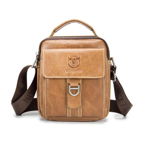 Genuine Leather Casual Multifunction Man Bag