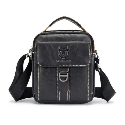 Image of Genuine Leather Casual Multifunction Man Bag