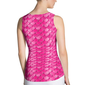 Pink Mermaid Tank Top