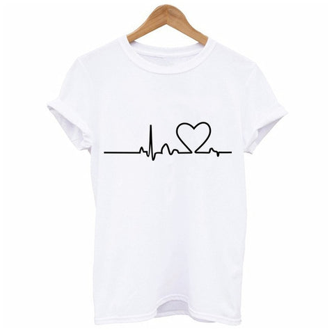 Fashion Women T Shirt Graphic Tee Cute Summer Tops