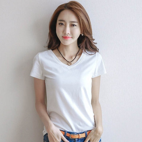 Image of Women Cotton T-shirt