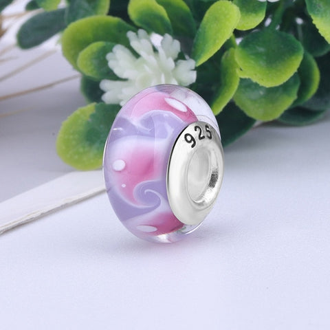 Image of Glass Beads Charm Bead ForWomen