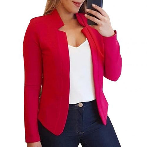 Image of Women Lapel Blazer