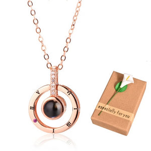 I Love You Projection Pendant