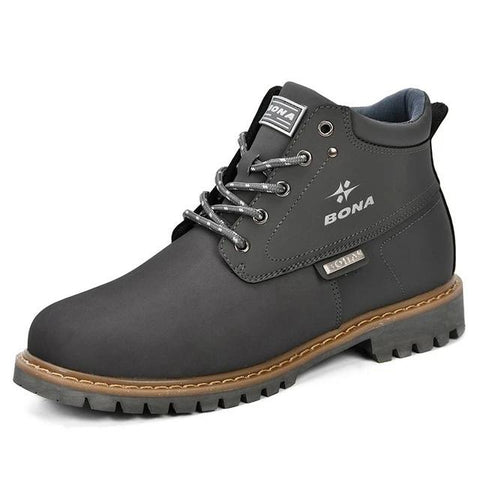 Image of Men Comfortable Men Leather Boots For Men Shoes