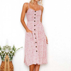 Women Flower Party Dress