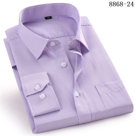Men's Business Casual Long Sleeved