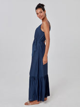 Load image into Gallery viewer, Navy Blue Long Dress