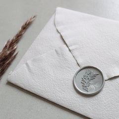Self adhesive olive branch wax seals