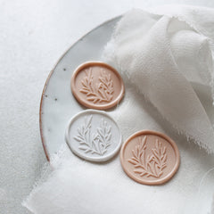Self adhesive wreath wax seals (Pack of 10)