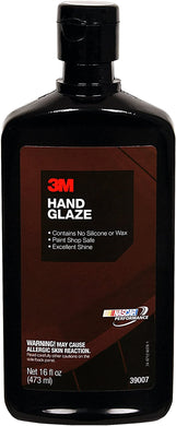 3M Hand Glaze, 39007, 1 pt (16 fl oz/473 mL)