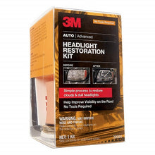 Load image into Gallery viewer, 3M Headlight Restoration Kit 39084, Simple Process to Restore Cloudy & Dull Headlights, Hand Application, 1 Kit