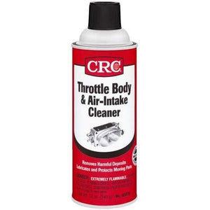 CRC 05078 Throttle Body and Air-Intake Cleaner - 12 oz