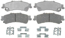 Load image into Gallery viewer, ACDelco 14D792CH Advantage Ceramic Rear Disc Brake Pad Set with Hardware