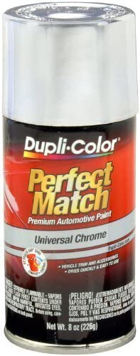 Dupli-Color BUN0200 Universal Chrome Perfect Match Automotive Paint - 8 oz. Aerosol