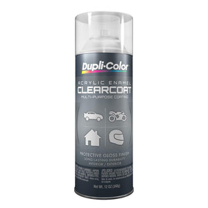 Dupli-Color DA1692 Crystal Clear 12 Ounce General Purpose Acrylic Enamel
