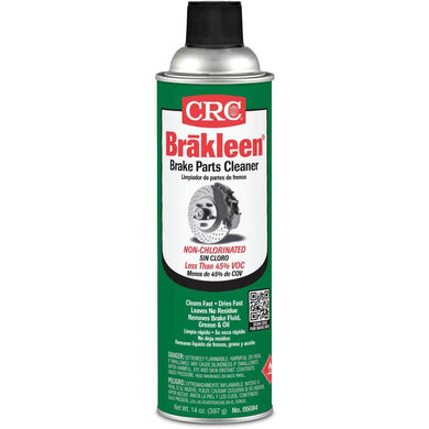 CRC 20 oz 05084 BRAKLEEN Brake Parts Cleaner-Non-Chlorinated-14 Wt Oz