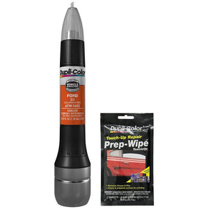 Dupli-Color AFM0403 Colorado Red Exact-Match Scratch Fix All-in-1 Touch-Up Paint for Ford Vehicles (D3) Bundle with Prep Wipe Towelette (2 Items)