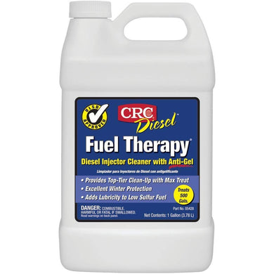 CRC 05428 Diesel Fuel Therapy Diesel Injector Cleaner with Anti-Gel - 1 Gallon