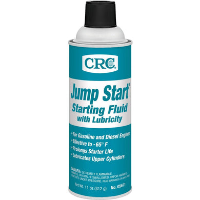 CRC 05671 Jump Starting Fluid with Lubricity - 11 oz