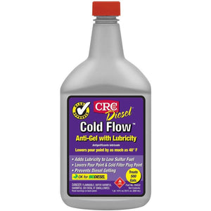 CRC 05632 Diesel Cold Flow Anti-Gel with Lubricity - 30 Fl Oz.