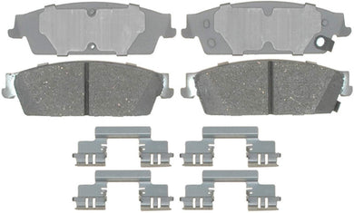 ACDelco 14D1194CH Advantage Ceramic Rear Disc Brake Pad Set with Hardware