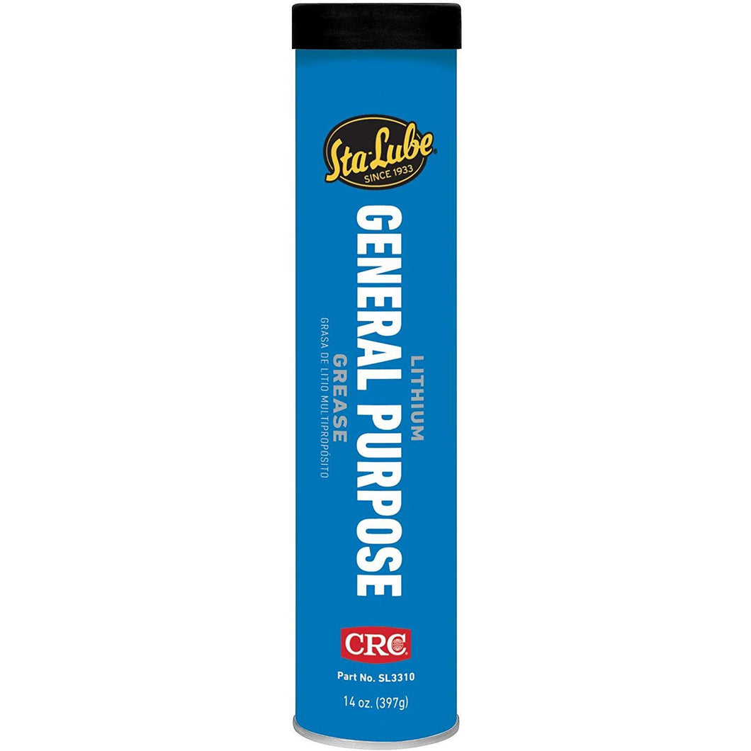 Sta-Lube SL3310 General Lithium Grease, 14 Ounce