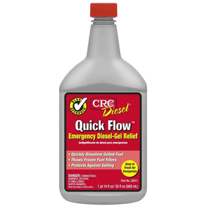 CRC 05911 Quick Flow Emergency Diesel-Gel Relief - 30 Fl Oz.