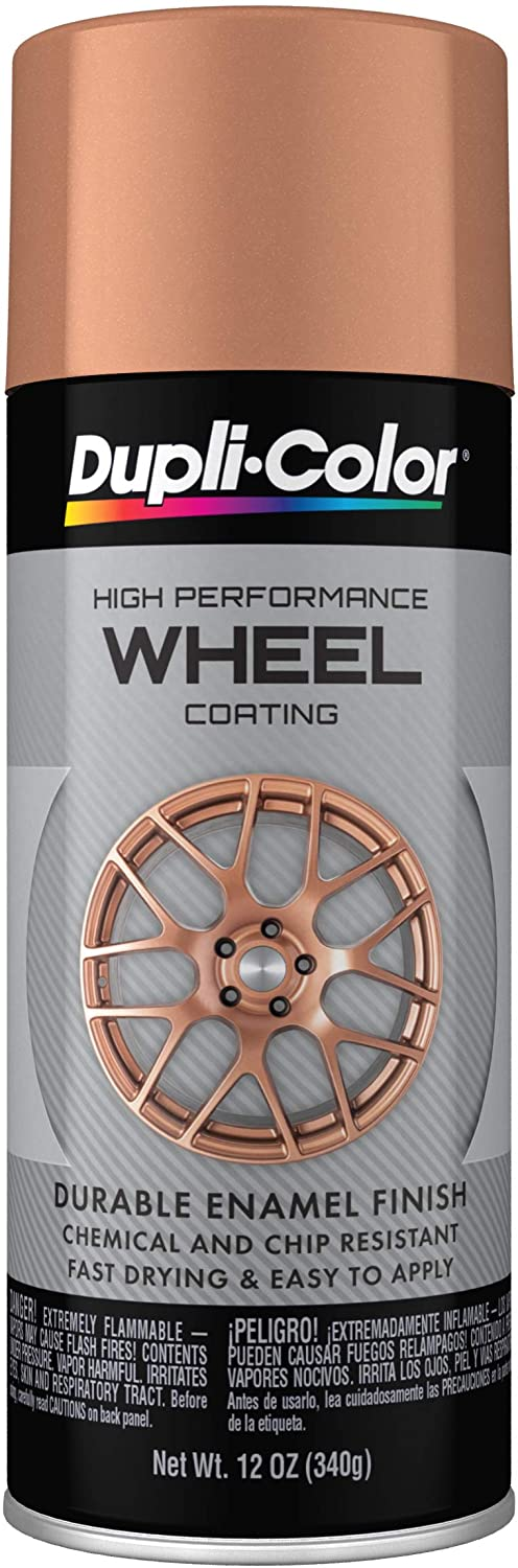 Dupli-Color HWP109 Wheel Coating, Rose Gold, 12 oz