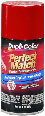 Dupli-Color BTY1618 Barcelona Red Metallic Toyota Exact-Match Automotive Paint - 8 oz. Aerosol
