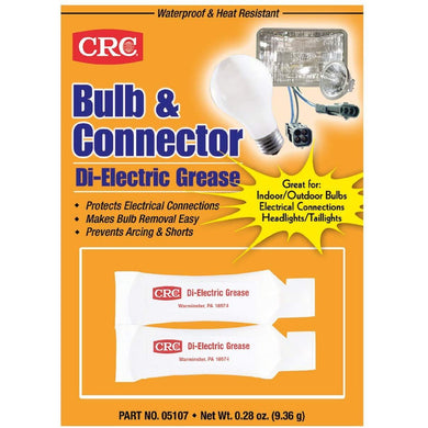 CRC 05107 Bulb & Connector Dielectric Grease - 0.28 Wt Oz