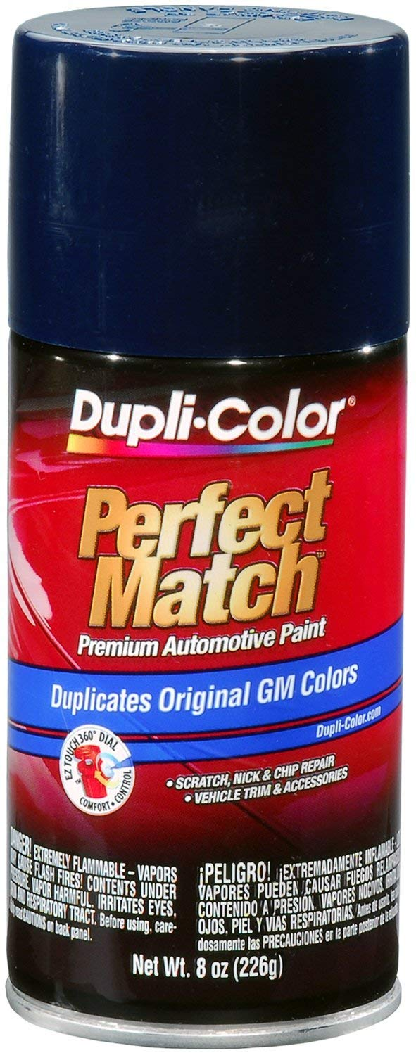 Dupli-Color BGM0541 Dark Blue General Motors Exact-Match Automotive Paint - 8 oz. Aerosol