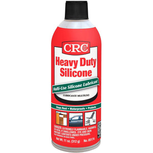 CRC 05174 Heavy Duty Silicone Lubricant - 11 oz., (Pack of 1)