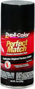 Dupli-Color BUN0100 Universal Gloss Black Perfect Match Automotive Paint - 8 oz. Aerosol