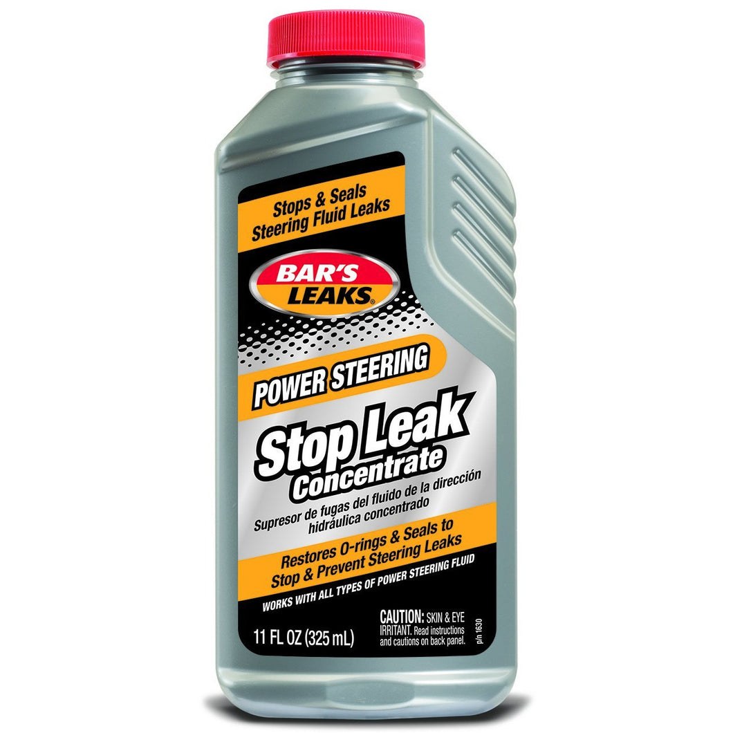 Bar's Leaks 1630 Grey Pack of 1 Power Steering Stop Leak-11 oz