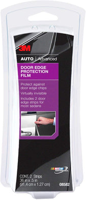 3M Door Edge Protection Film, Protect Against Door Edge Chips, Virtually Invisible, 2 Strips @ 36 in x 5 in