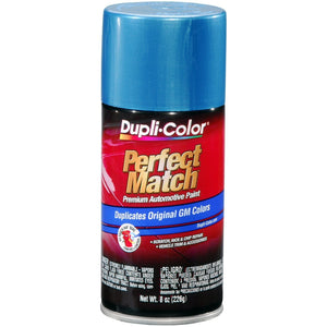 Dupli-Color BGM0542 Dark Blue Metallic General Motors Exact-Match Automotive Paint - 8 oz. Aerosol