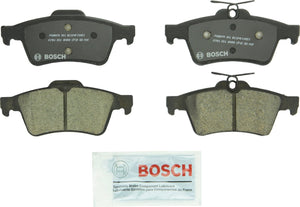 Bosch BC1095 QuietCast Premium Ceramic Disc Brake Pad For: Chevrolet Cobalt; Ford C-Max, Escape, Focus, Transit Connect; Jaguar; Mazda; Pontiac; Saab; Saturn; Volvo, Rear