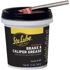 Sta-Lube SL3303 Brake Caliper Synthetic Grease - 12 Wt Oz.