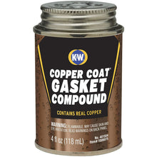 Load image into Gallery viewer, CRC K&W 401504 Copper Coat Gasket Compound - 4 Fl Oz