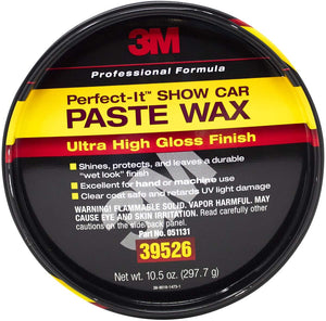 3M Perfect-it Show Car Paste Wax, 39526, 10.5 oz Net Wt