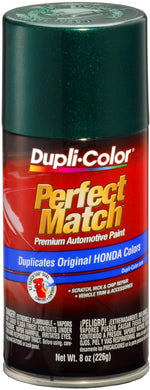 Dupli-Color BHA0976 Clover Green Pearl Honda Perfect Match Automotive Paint - 8 oz. Aerosol