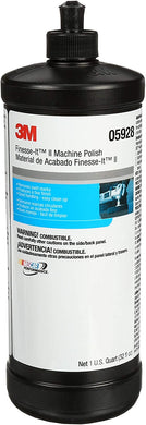 3M 05928 Finesse-It II Machine Polish – For Cars, Boats, Trucks and RVs – 1 Quart