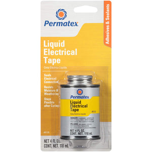 Permatex 85120 Liquid Electrical Tape, 4 oz
